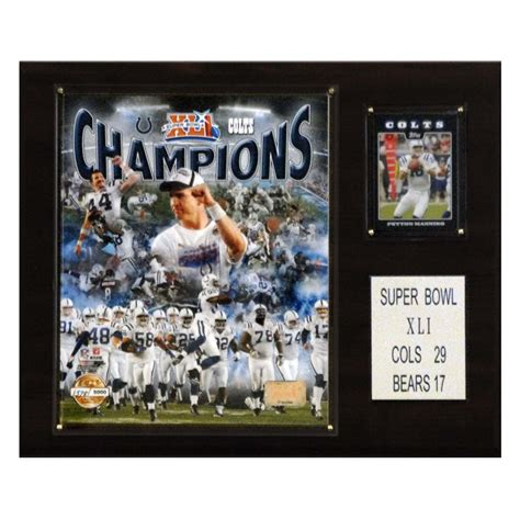 Candi Collectibles® 1215sb41gd Nfl Super Bowl Champions 12