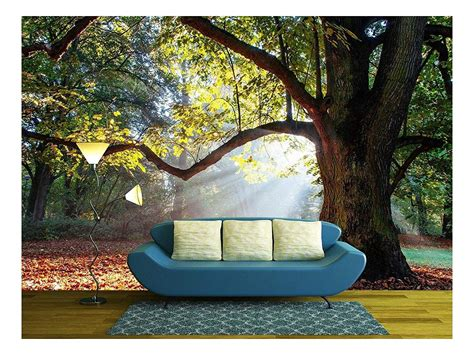 Wall26 Mighty Oak Tree Removable Wall Mural Self