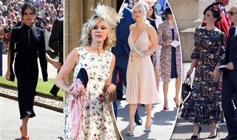 royal wedding worst dressed  guests break  dress code  meghan  harrys day wadnews