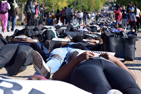 Syracuse University Students Stage Powerful Die In Protest