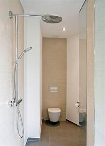 Douche Petit Espace : petite salle de bains 45 id es inspirantes pour votre espace ~ Voncanada.com Idées de Décoration