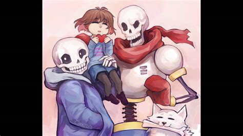 [undertale Amv] Sans, Papyrus And Frisk-hey Brother