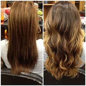 streamline hair design by sam ombré color melt