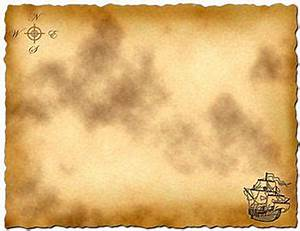 Treasure Map Template for pirate party games or pirate ...