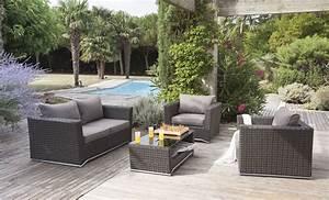 Salon De Jardin Rotin Tressé : achat table de jardin les cabanes de jardin abri de ~ Premium-room.com Idées de Décoration