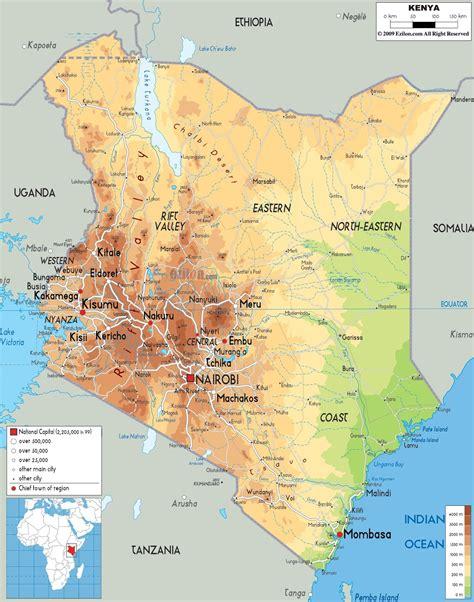 ANTHROPOLOGY OF ACCORD: Map on Monday: KENYA