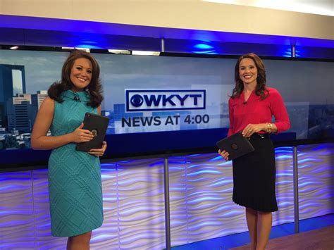 Welcome @andreawkyt To @wkyt News At 4 With @aphilpottwkyt