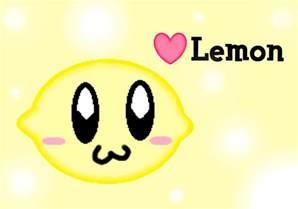 Cute Lemon Drawing