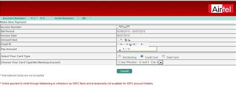 See the benefits involved in paying the credit card bills by using the debit they don't take credit card facilities for spending extra money but for availing discounts and cashback. how to pay hdfc credit card bill through icici internet banking You can download to your on a ...