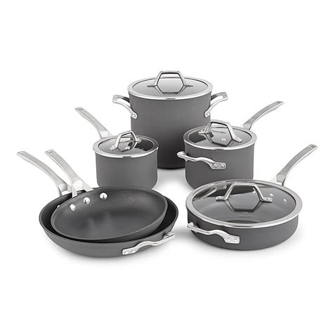 cookware calphalon nonstick anodized signature hard piece grey sets glass amazon repeeron pans pots pan kitchen pot oven cooking collection