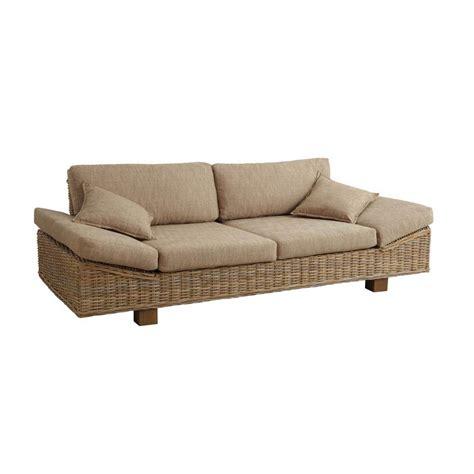 canapé l canapé rotin canapés fauteuil