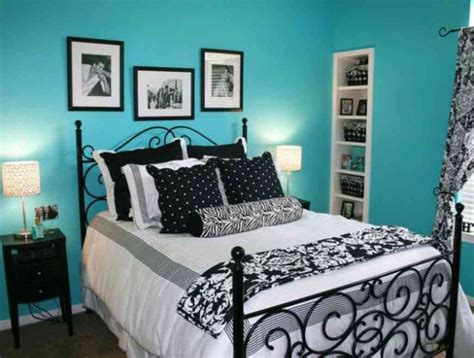Decorating Ideas For Teal Bedroom by Black White And Teal Bedroom Decor Ideasdecor Ideas