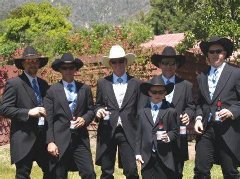 Cowboy Wedding Outfits