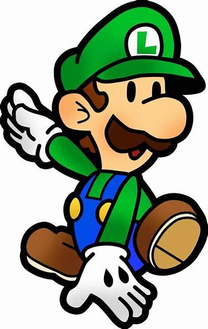 Luigi Mario Paper Jam Bros Deviantart Fawfulthegreat64