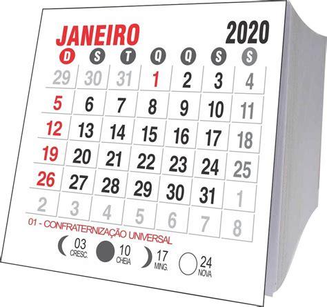mini calendario jogos soltos unidades em