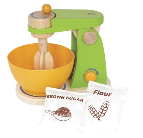 Hape Kitchen Set Canada by Hape Mighty Mixer Wooden Play Kitchen Set With Accessories