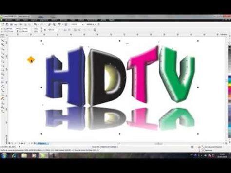 efek logo   menggunakan corel draw  doovi