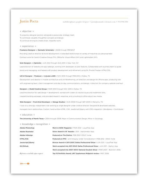 cv design inspiration 5 ideas for creative resumes and cvs