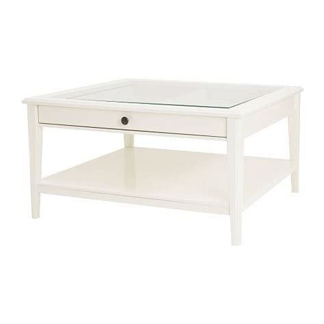 Spend this time at home to refresh your home decor style! LIATORP Coffee table - white/glass - IKEA