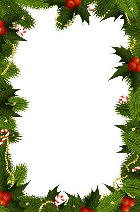 transparent christmas png border frame gallery yopriceville high quality images and