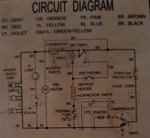 Electrical Wiring Diagram Of Refrigerator