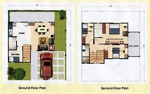 120 square meters house plan