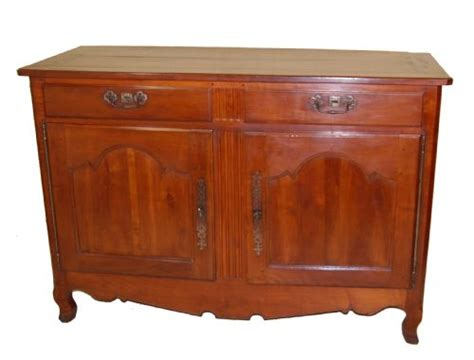 Cherry Wood Buffet Sideboard by Solid Cherry Wood Buffet Sideboard Circa 1830 184877