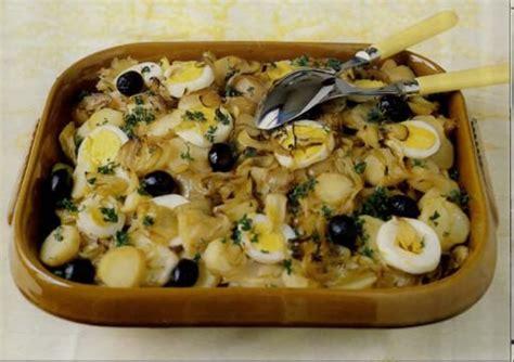 cuisiner de la morue recette morue séchée à la portugaise