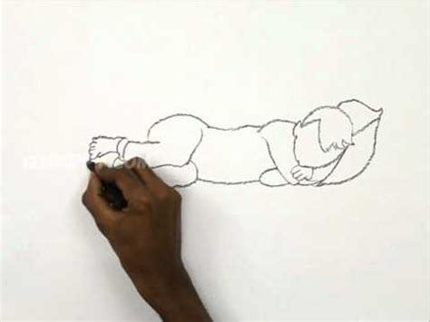 baby blanket how to draw a kid