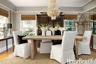 modern country style delicious dining room with a modern country colour scheme