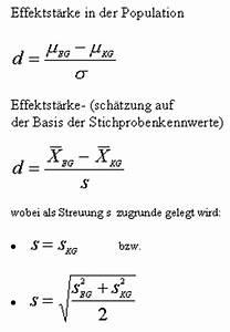Effektgröße Berechnen : praktische bedeutsamkeit empirischer ergebnisse ~ Themetempest.com Abrechnung
