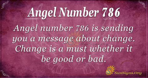 Angel Number 786 Meaning | SunSigns.Org