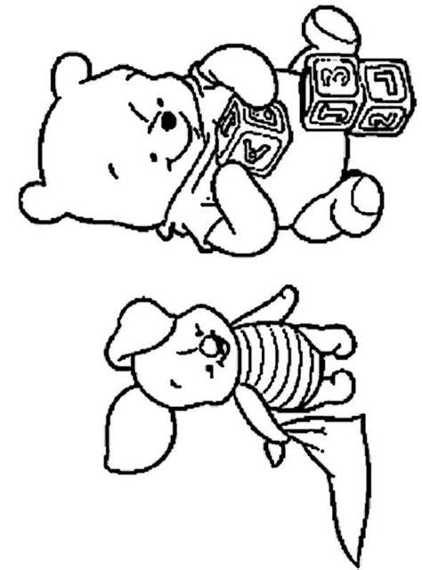 ausmalbilder kostenlos winnie pooh baby  ausmalbilder