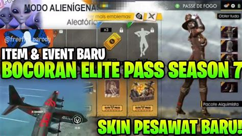 bahas bocoran update elite pass season  mode alien