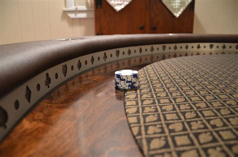handmade poker table cool  collection
