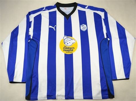 2009-11 SHEFFIELD WEDNESDAY SHIRT XL Football / Soccer ...