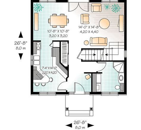 genius compact house floor plans compact two story house plan 21004dr architectural
