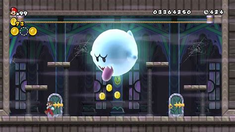 Dolphin 402 New Super Mario Bros Wii World 7 Ghost