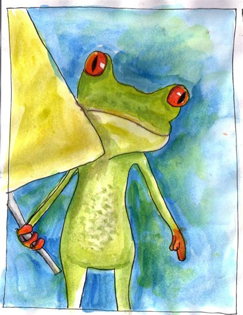 frog | I saw this frong in an advertisment and just had to ...