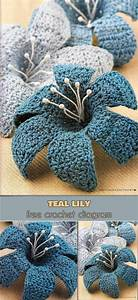3000 Best Crochet Flowers And Leaves Images On Pinterest