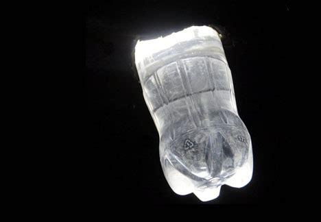 solar bottle lamps water bleach light designs