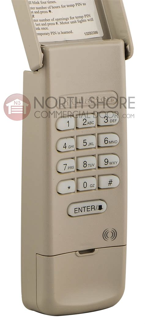 Liftmaster Garage Keypad by Liftmaster 377lm Garage Door Opener Keypad Remote W 9v