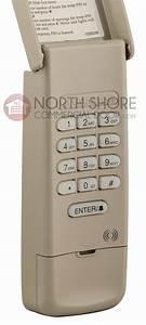 Liftmaster 377lm Garage Door Opener Keypad Remote W  9v