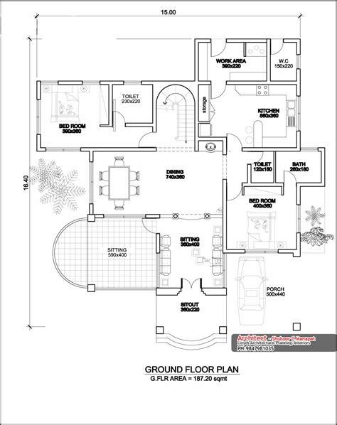 ground floor plan kerala house designs and floor plans meze