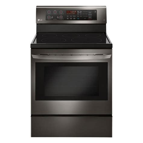 LG 4 Piece Kitchen Appliance Package with Electric Range