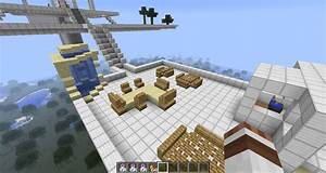 super awesome air temple with surprise Minecraft Project