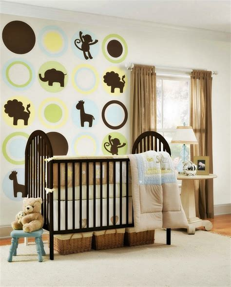 deco chambre bebe theme jungle essential things for baby boy room ideas