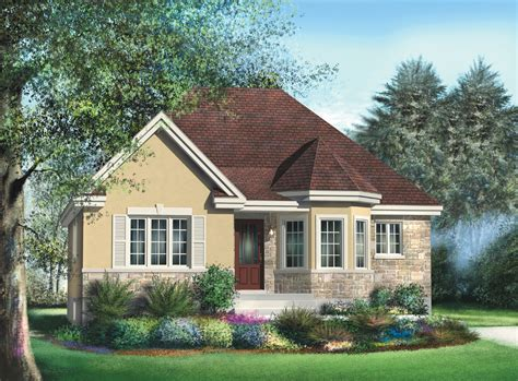 Bungalow With Turret Nook 80366PM Architectural