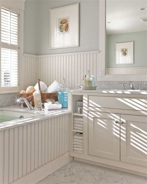 Beadboard Or Wainscoting by Popular Beadboard Wainscoting For Indoor House Walls