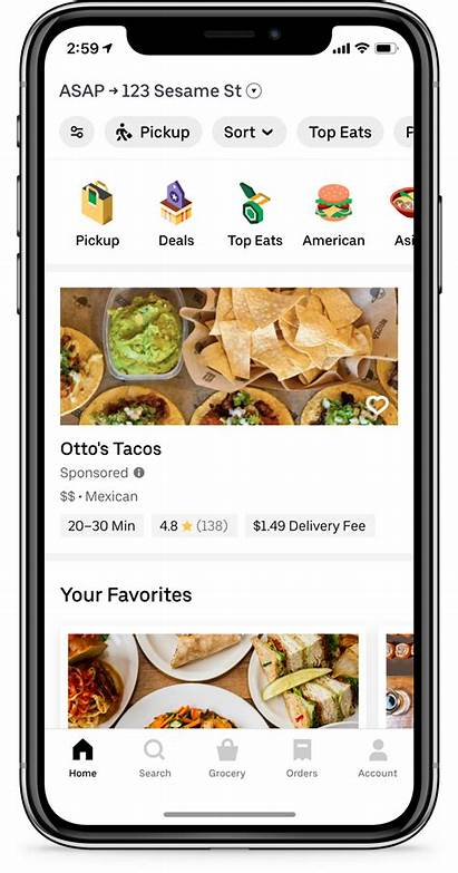 Uber Eats Sponsored Listings Ad Its Advertising